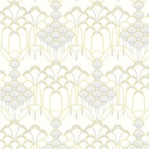 Deco Lace ivory small.