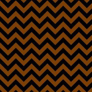 Chocolate Brown Black Color Chevron Zig Zag Pattern