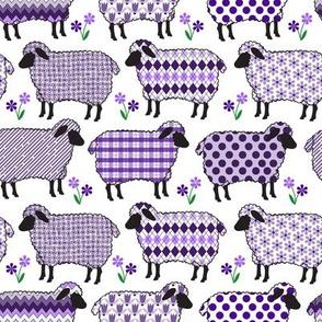 Baa Baa Purple Sheep