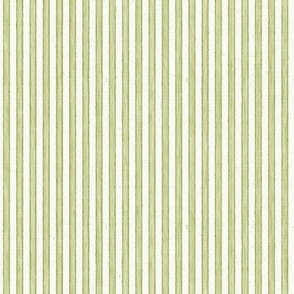 Faded French Stripe - Green
