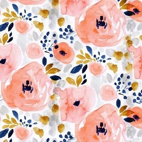 genevieve floral XS