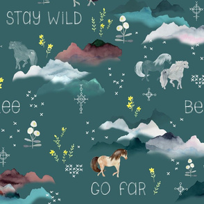 Stay Wild Slate