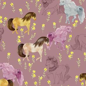 Wild Horses Amethyst