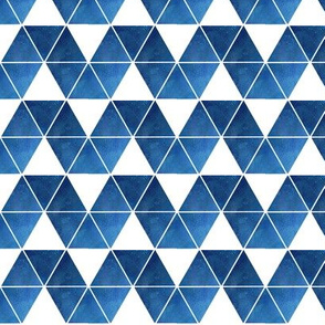 blue triangle repeat