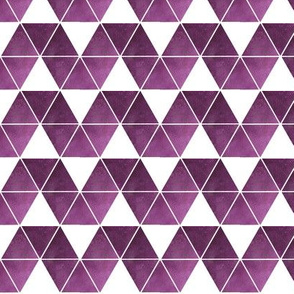 purple triangle repeat