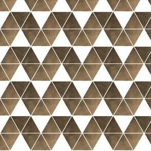 sepia triangle repeat