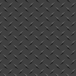 Dark Diamondplate Diamond Plate metal - SMALLER repeat