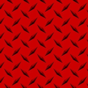 Diamondplate Diamond Plate Metal - Red