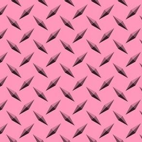 Diamondplate Diamond Plate metal - Pink