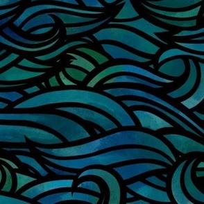 Medium dark waves