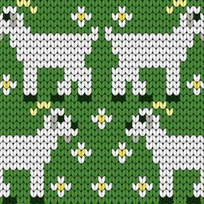 08203699 : knit goat 1x