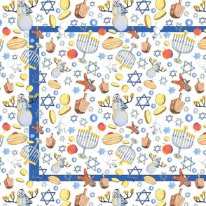 Hanukkah Tea Towel