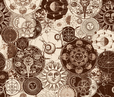 Alchemical Astrology Sepia