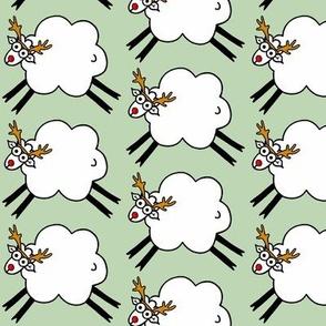 Reinsheep - Merry Christmas to Ewe