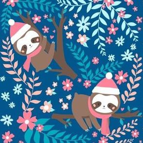 Christmas Baby Sloth