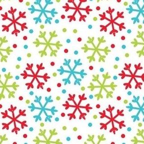 FS Playful Penguin Snowflake