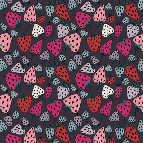 Strawberry fond prune