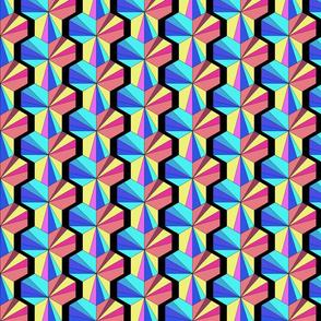 Hexagon walls