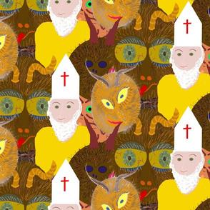 Krampus und Nikolaus  -Dec 5th