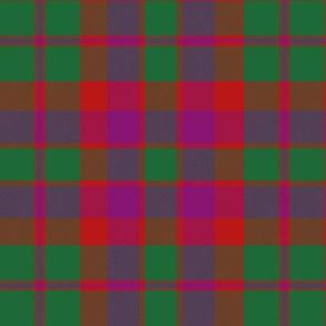 "City of Glasgow tartan, 6""  (Wilson's 1790)"