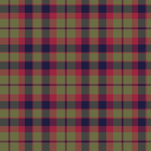 "City of Glasgow tartan, 3"" muted (Wilson's 1790)"