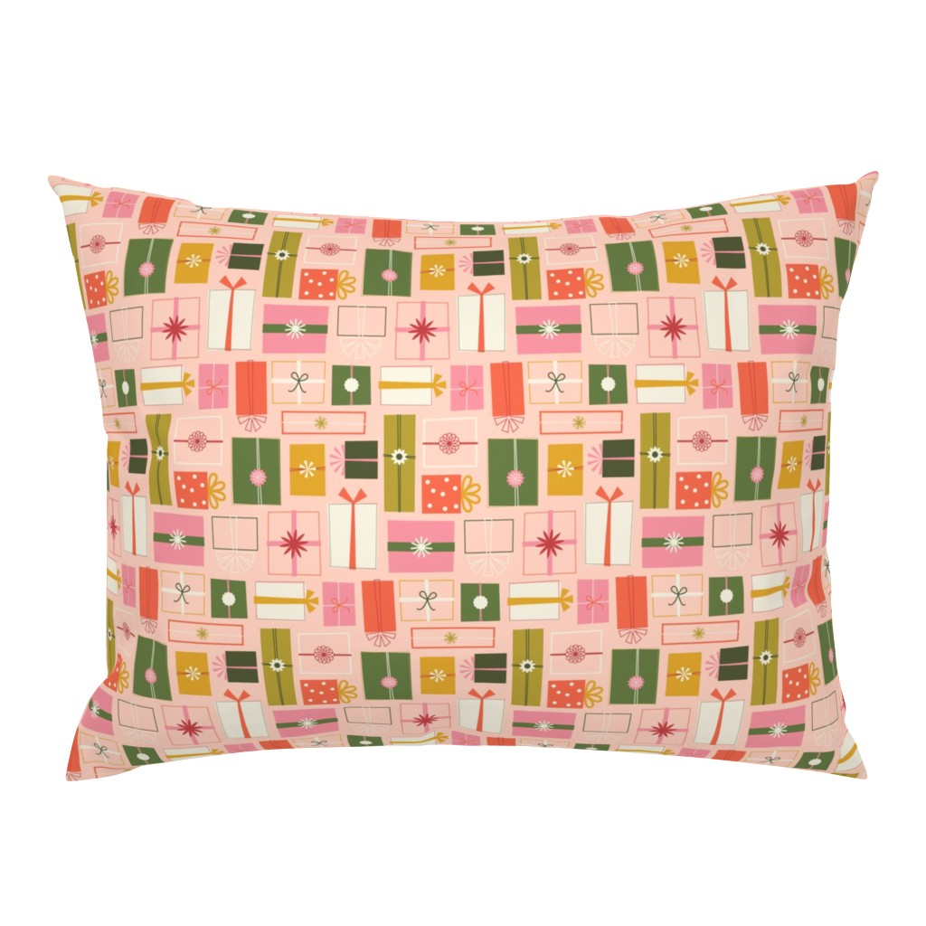 Campine Pillow Sham featuring Wrapping Presents by katerhees