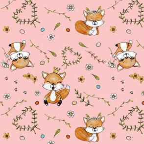 The Happy Fox 1 (blush)