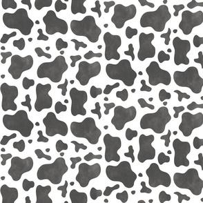 Watercolor Cow Hide - Light
