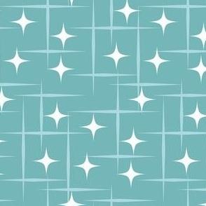 Atomic starburst blue