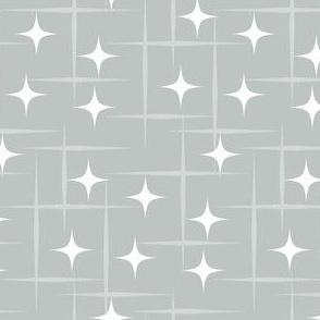 Atomic starburst grey