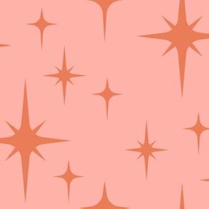 Pink atomic starburst