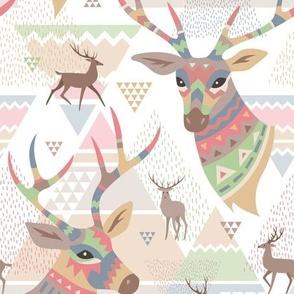 Scandinavian deers