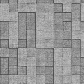 Grey Canvas Squares