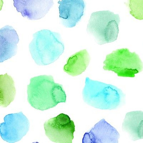 tenderness || watercolor stains for nursery