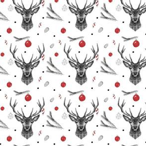 christmas deer  _ ornaments 2018