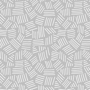 Basket Weave / Gray