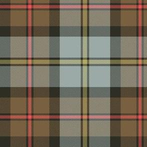 "MacLeod of Harris / green MacLeod / MacLeod hunting tartan, 6"" weathered / faded"