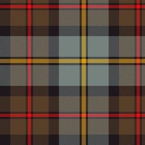 "MacLeod of Harris / green MacLeod / MacLeod hunting tartan, 6"" weathered dark"