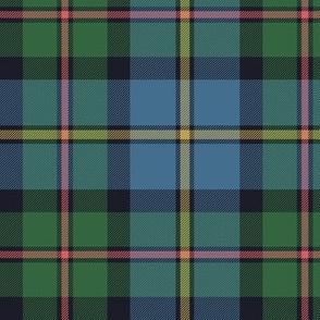 "MacLeod of Harris / green MacLeod / MacLeod hunting tartan, 6"" faded colors"