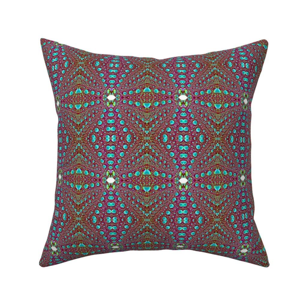 Catalan Throw Pillow featuring urchin 13 by hypersphere