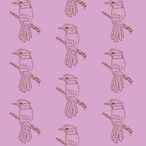 Kookaburra Calligram 3