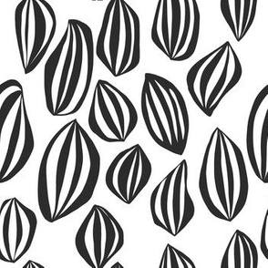 Cut out eggs bw