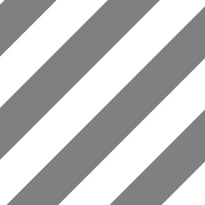 Gray Grey Fresh White Color Large Simple Stripe Gift Present Candy Paper Pattern