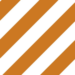 Ocher Gold Brown Fresh White Color Large Simple Stripe Gift Present Candy Paper Pattern