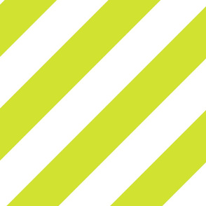 Pear Yellow Green Fresh White Color Large Simple Stripe Gift Present Candy Paper Pattern