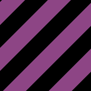 Plum Purple Black Color Large Simple Stripe Gift Present Candy Paper Pattern