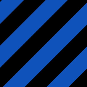 Sapphire Blue Black Color Large Simple Stripe Gift Present Candy Paper Pattern