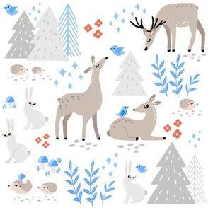 Winter Wonderland in Woodland