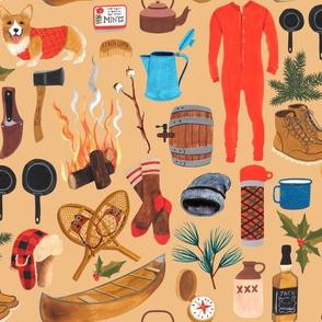 Lumberjack Holiday - Ochre