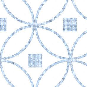 Mid century modern Circle geometric texture d wallpaper